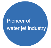 Pioneer of water jet industry