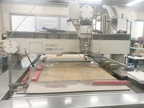 Water jet cutter SWS1100 machine