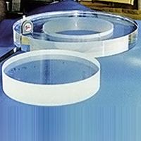 石英ガラス(ガラス・アブレイシブ切断)φ800mm×70t